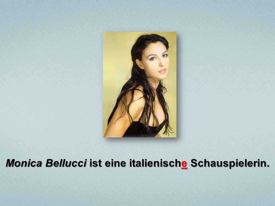 Monica Bellucci ist eine italienische Schauspielerin.