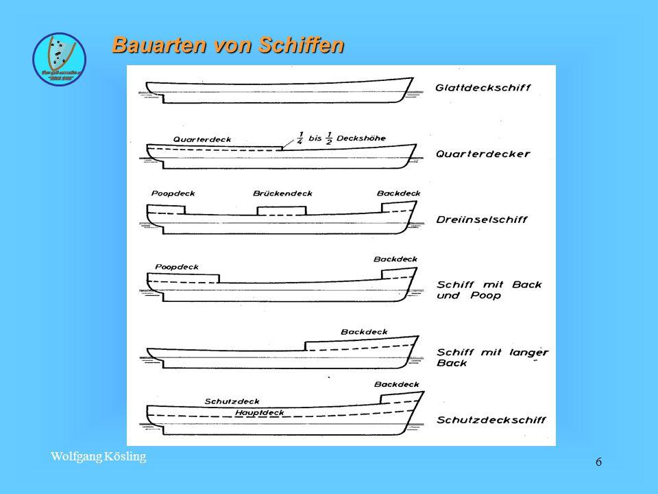 Bauarten von Schiffen Wolfgang Kösling