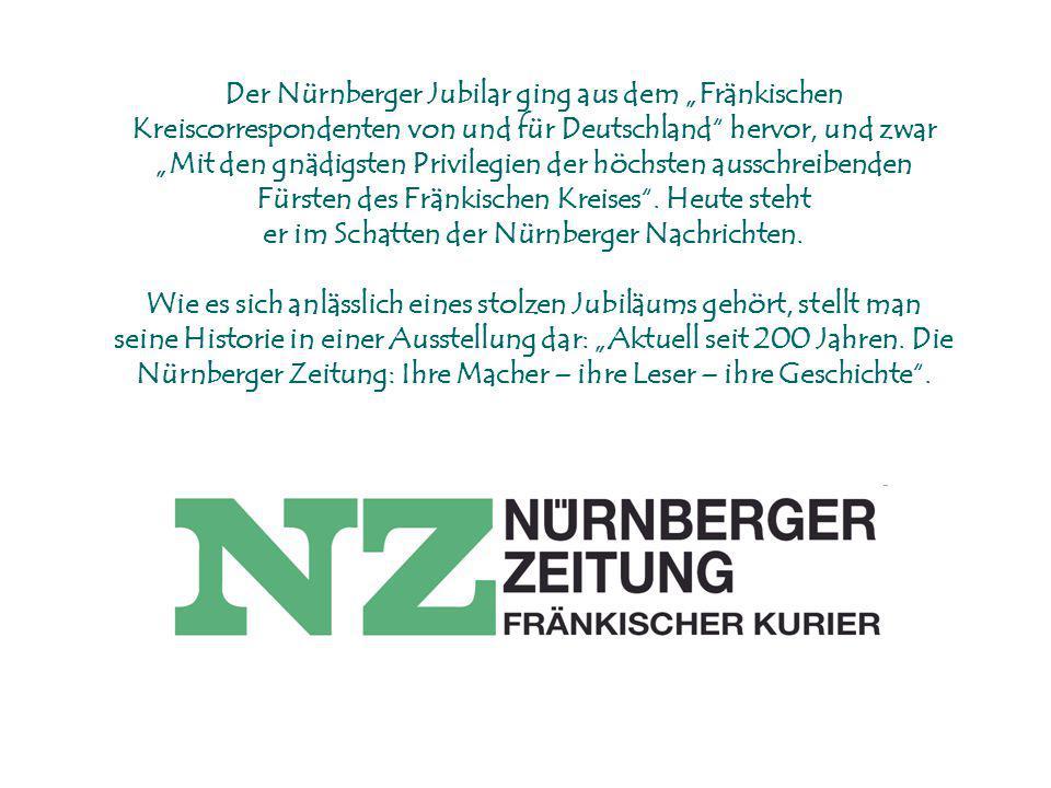 er im Schatten der Nürnberger Nachrichten.