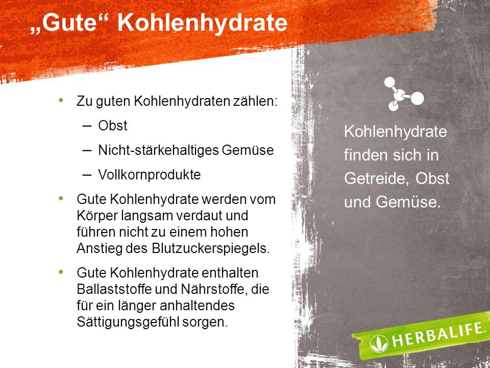 """""""Gute Kohlenhydrate Zu guten Kohlenhydraten zählen: Obst. Nicht-stärkehaltiges Gemüse. Vollkornprodukte."""