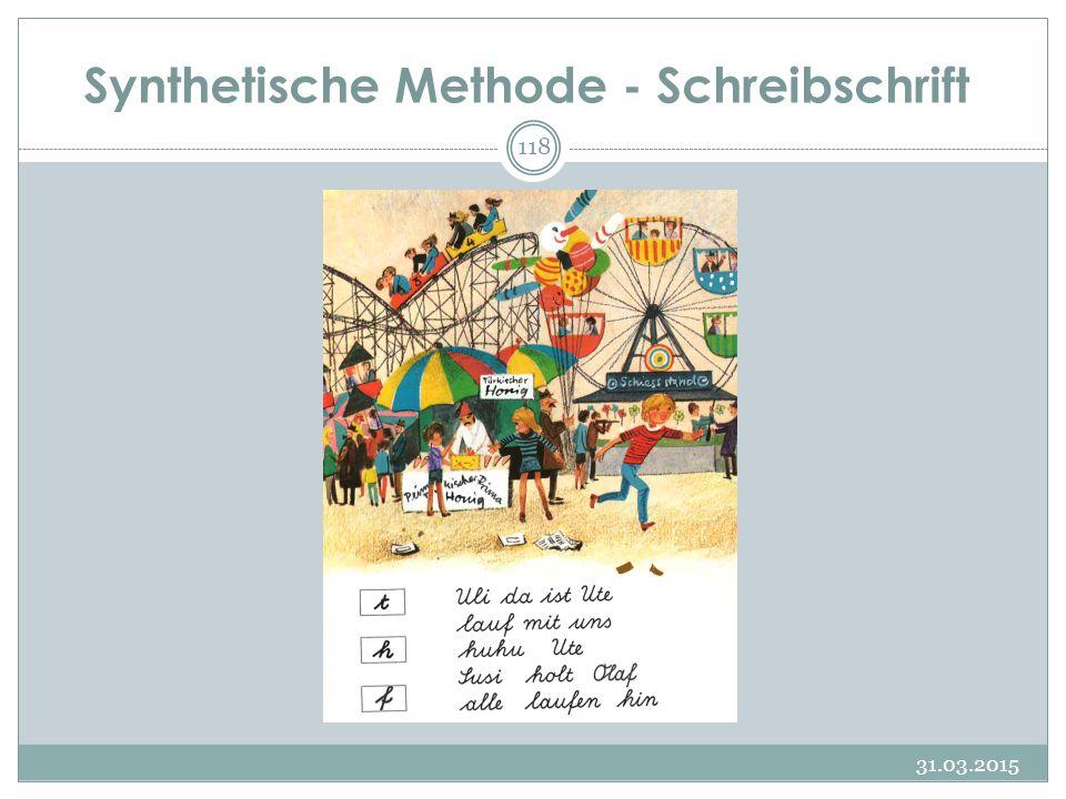 Synthetische Methode - Schreibschrift