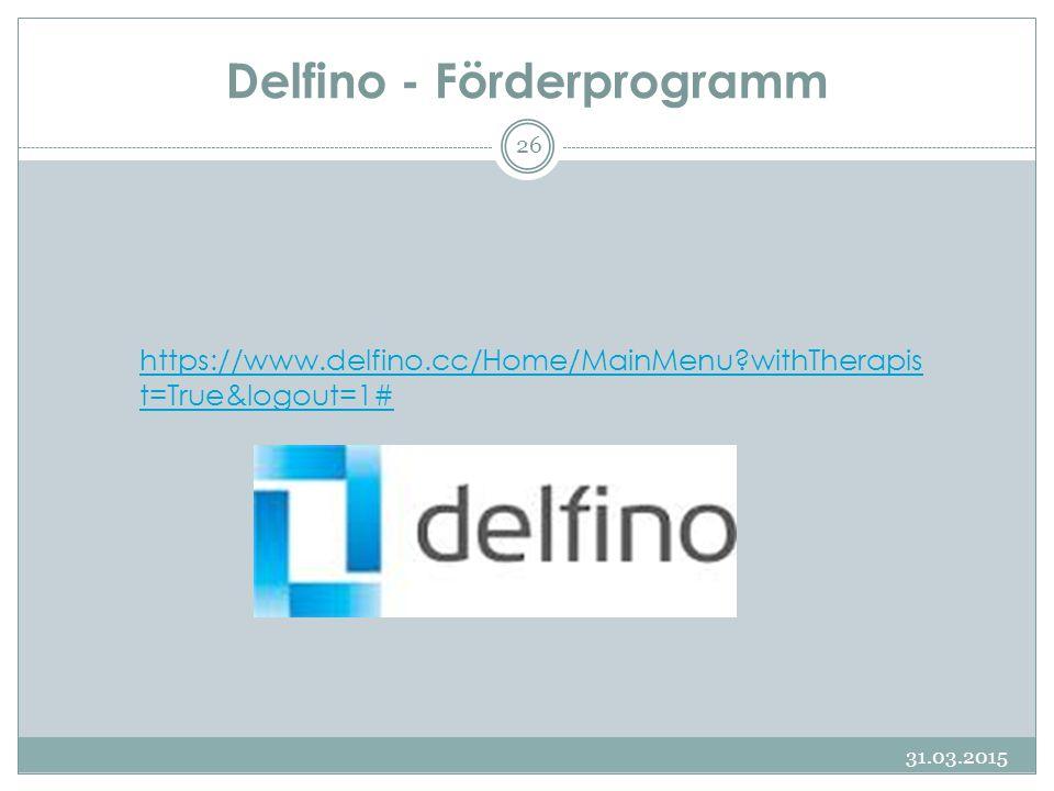 Delfino - Förderprogramm