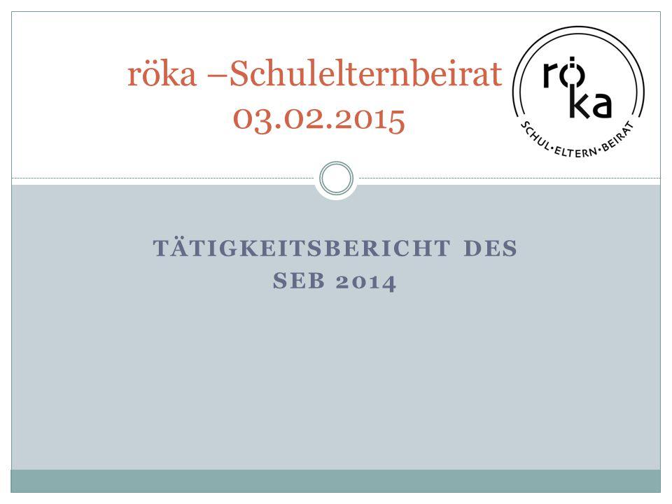 röka –Schulelternbeirat 03.02.2015