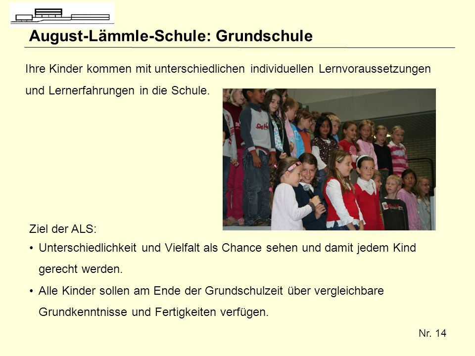 August-Lämmle-Schule: Grundschule
