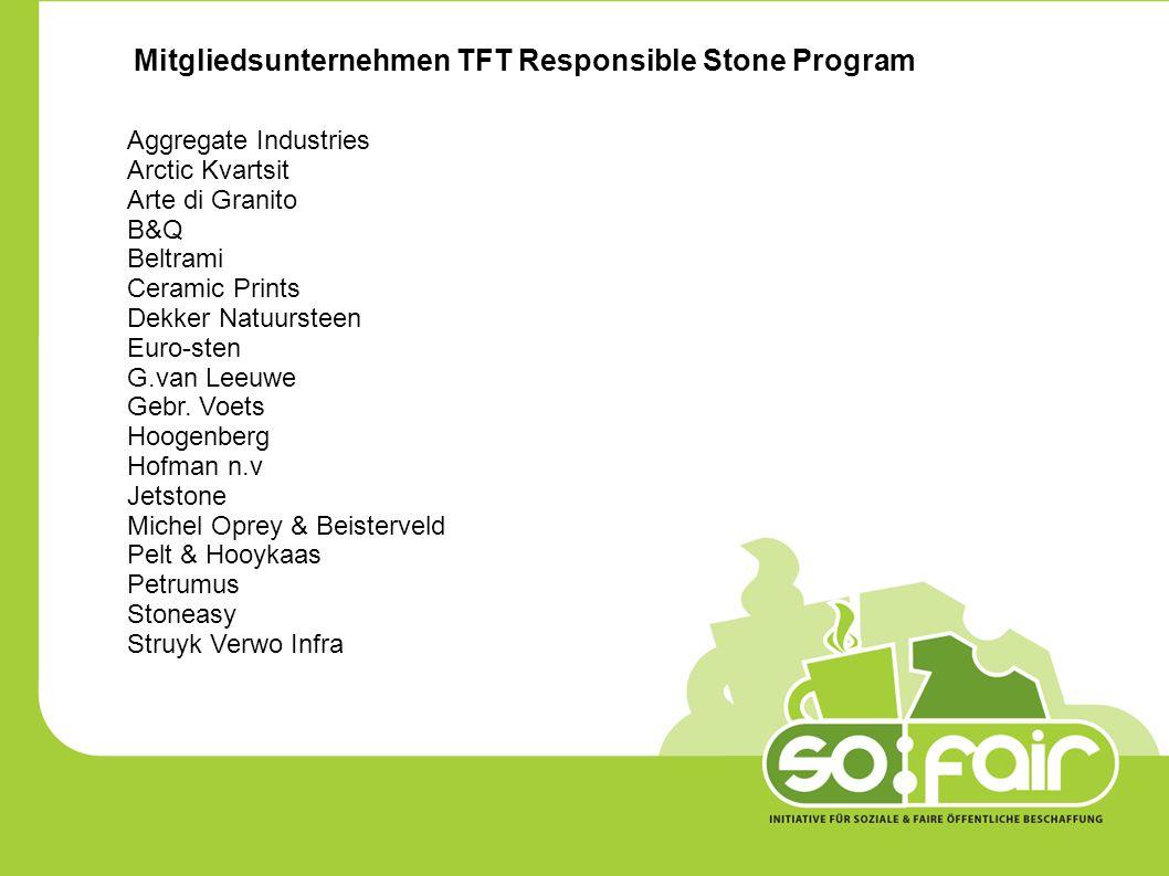 Mitgliedsunternehmen TFT Responsible Stone Program