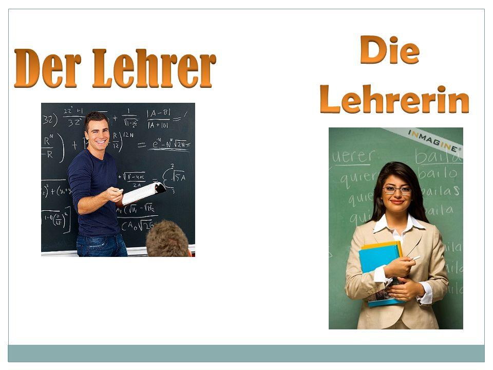 Die Lehrerin Der Lehrer