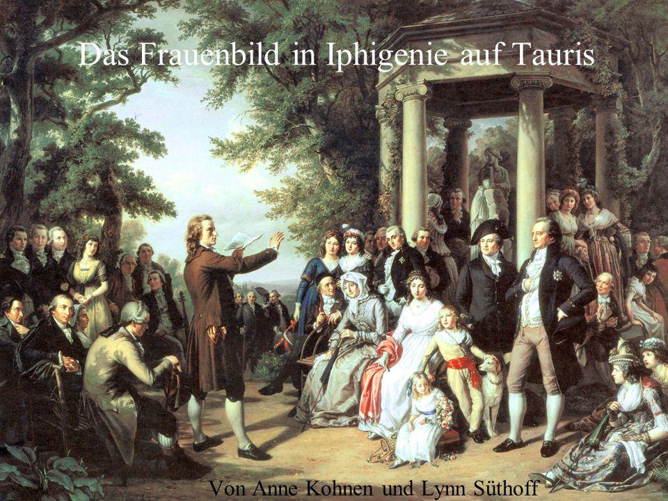 Das Frauenbild in Iphigenie auf Tauris