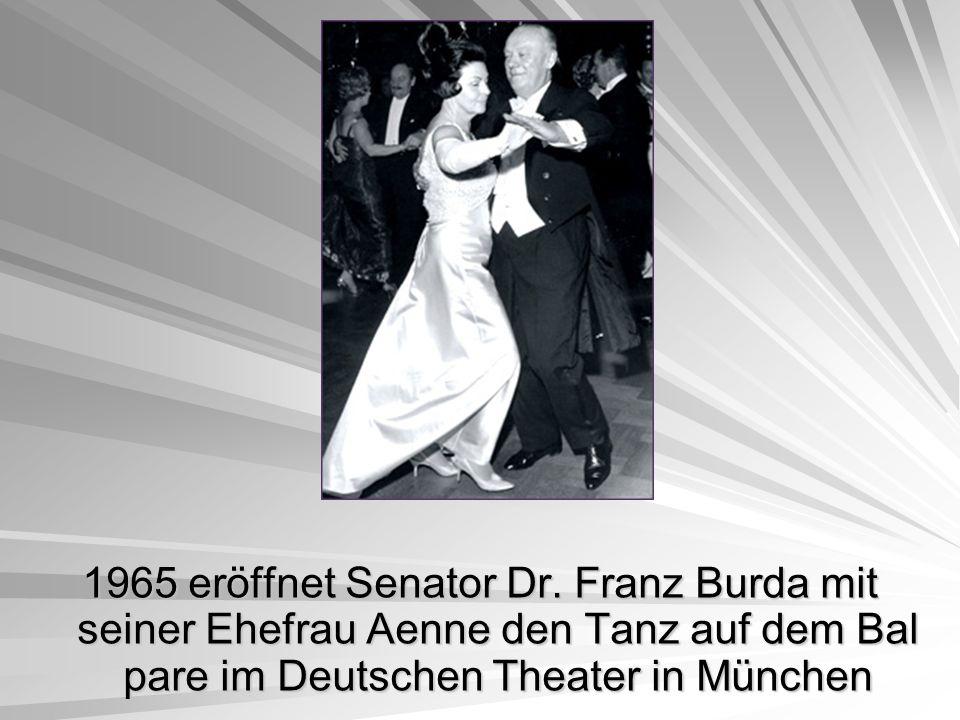 1965 eröffnet Senator Dr.
