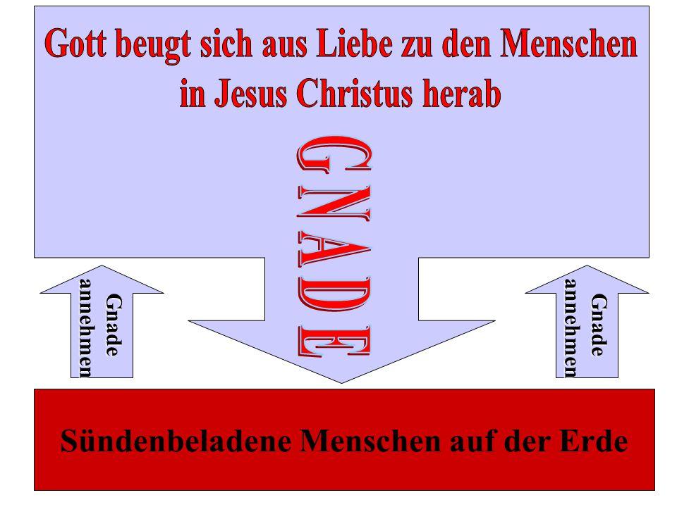 Gott beugt sich aus Liebe zu den Menschen in Jesus Christus herab