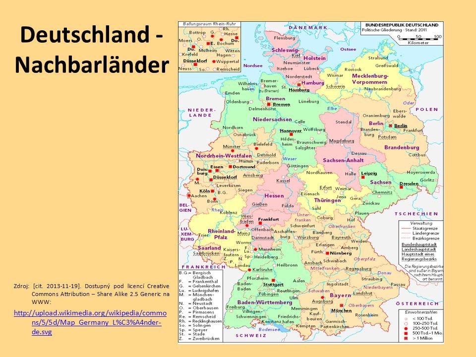 Deutschland - Nachbarländer
