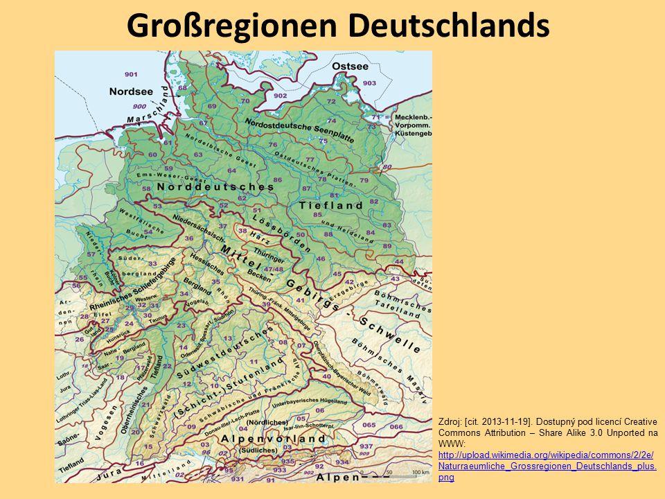 Großregionen Deutschlands