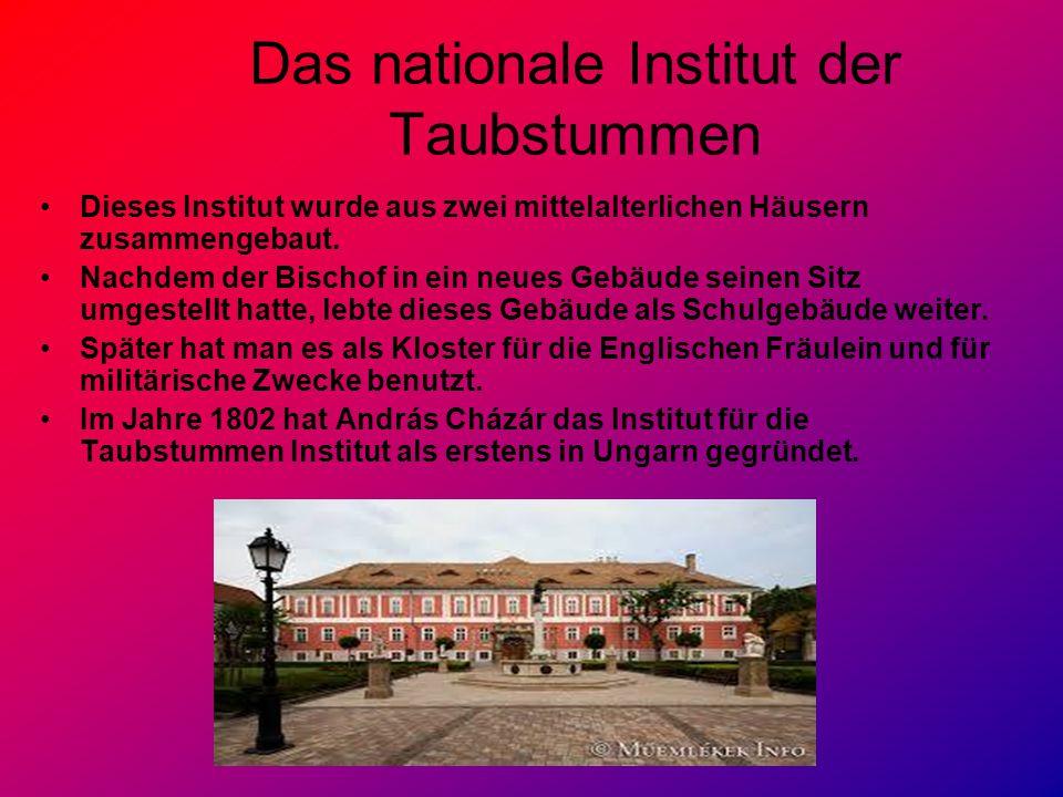 Das nationale Institut der Taubstummen