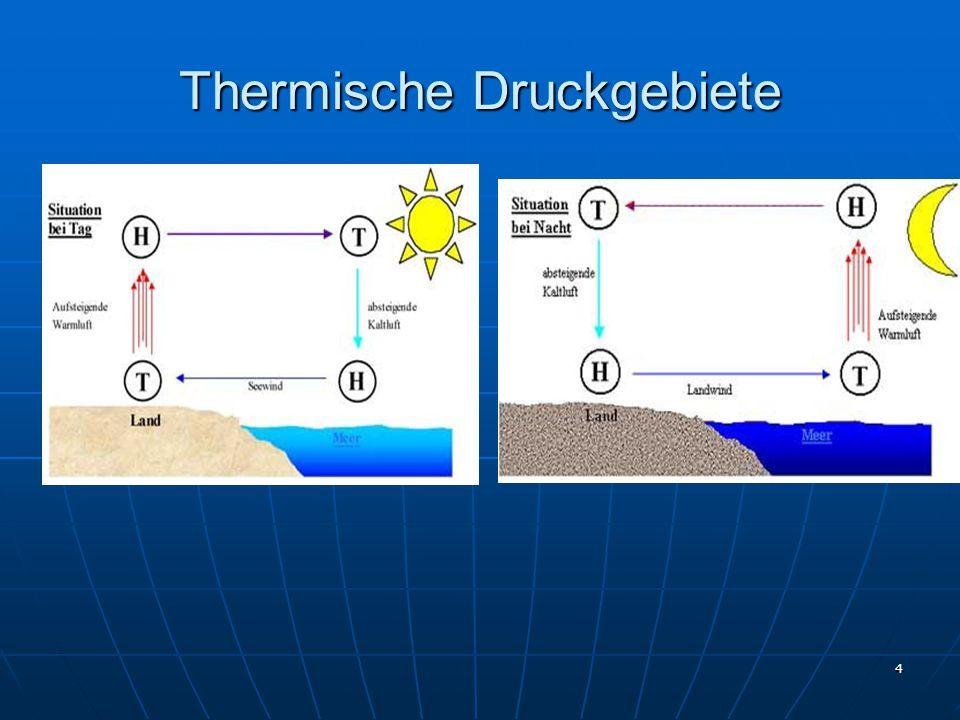 Thermische Druckgebiete