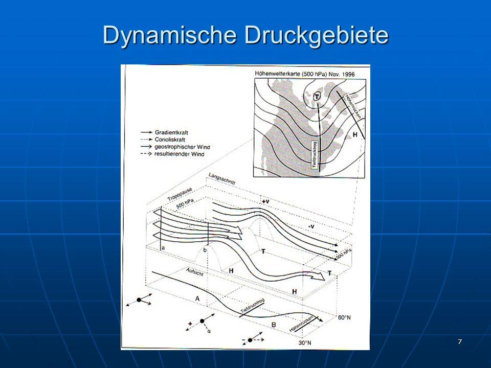 Dynamische Druckgebiete