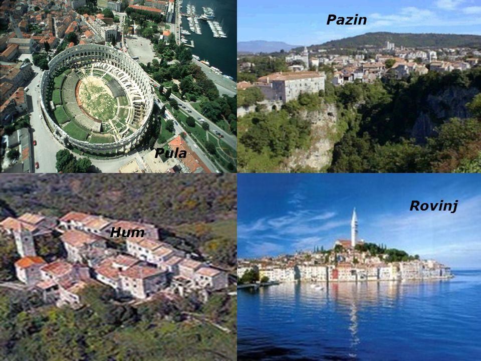 Pazin Istrien. ist die größte Halbinsel an der nördlichen Adria zwischen dem Golf von Triest und der Kvarner-Bucht vor Rijeka.