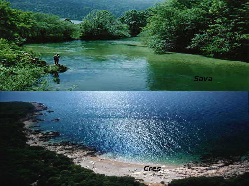 Berge Seen Inseln Zu Kroatien gehoren 1246 Inseln un die