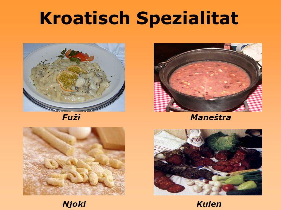 Kroatisch Spezialitat