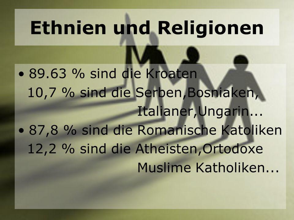 Ethnien und Religionen
