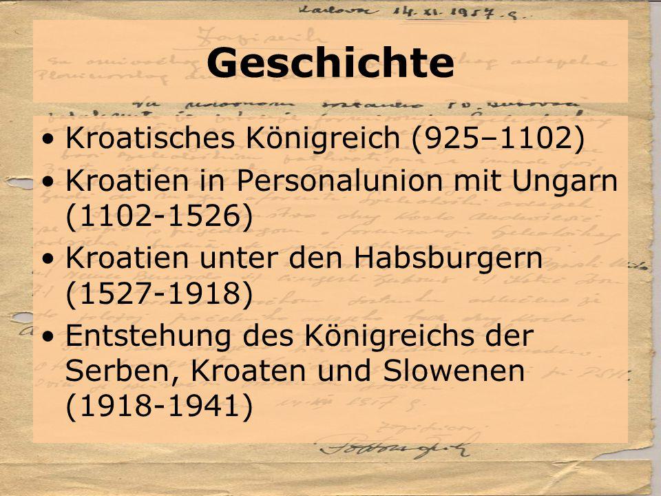 Geschichte Kroatisches Königreich (925–1102)
