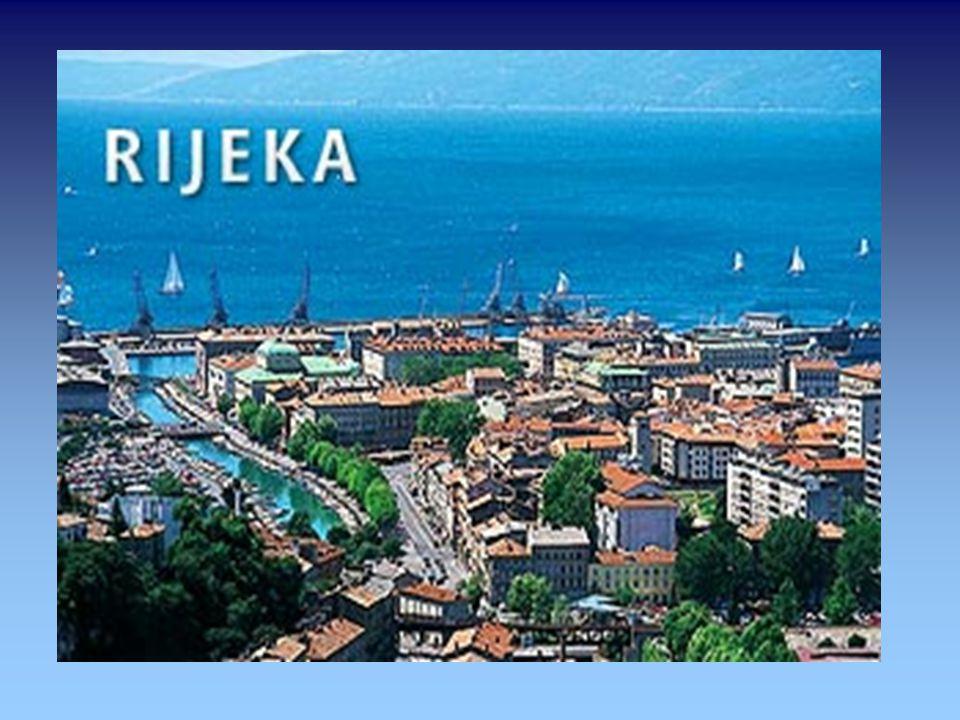 Rijeka ...ist eine Hafenstadt an der Kvarner-Bucht in Kroatien