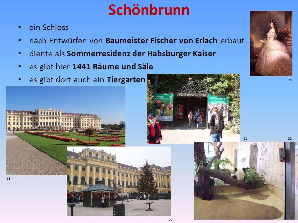 Schönbrunn ein Schloss