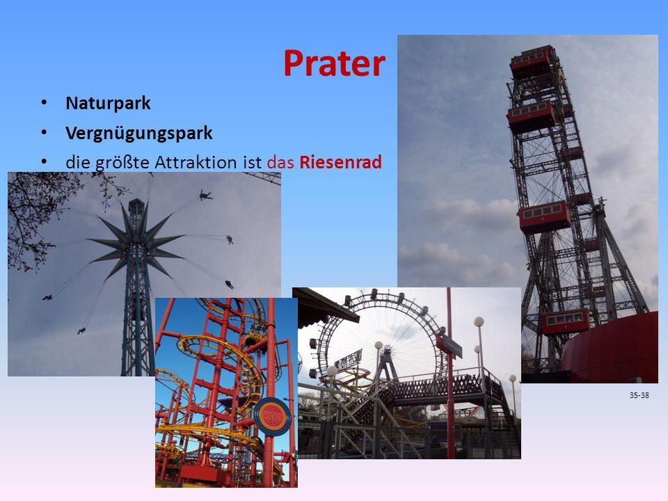 Prater Naturpark Vergnügungspark