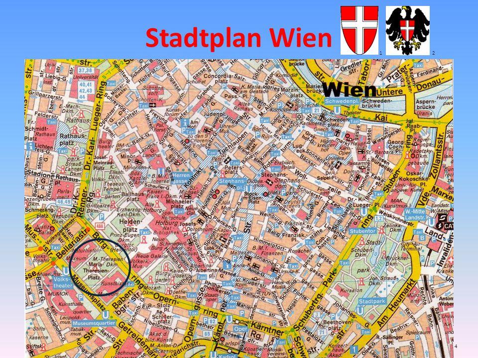 Stadtplan Wien 1 2 4
