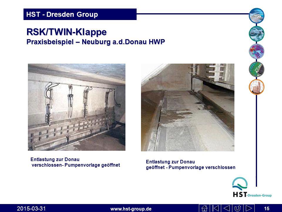 RSK/TWIN-Klappe Praxisbeispiel – Neuburg a.d.Donau HWP