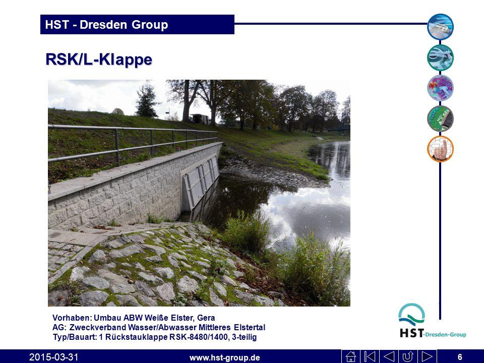 RSK/L-Klappe 2017-04-09 Vorhaben: Umbau ABW Weiße Elster, Gera