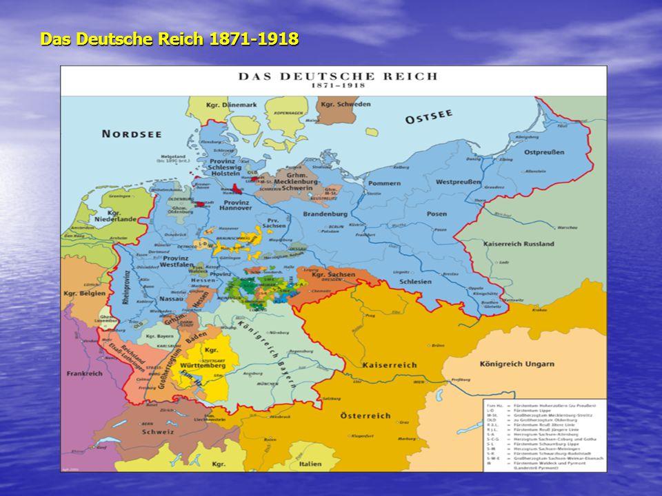 Das Deutsche Reich 1871-1918