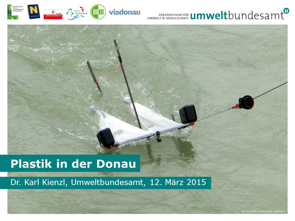 Dr. Karl Kienzl, Umweltbundesamt, 12. März 2015