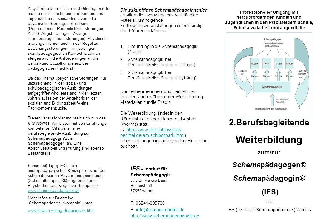 IFS (Institut f. Schemapädagogik) Worms
