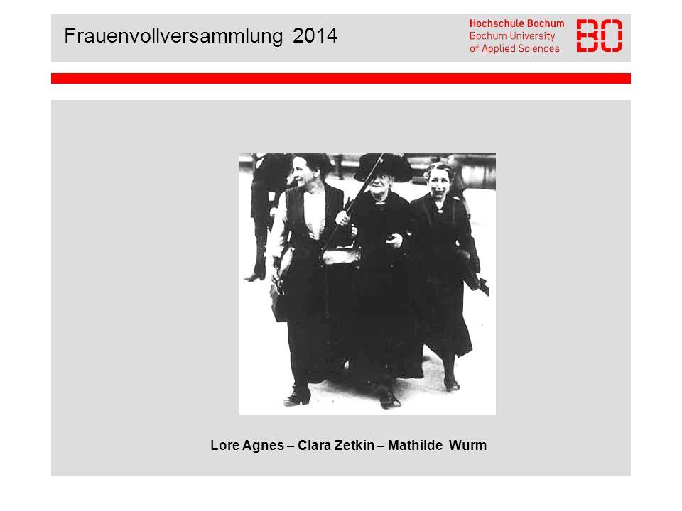 Frauenvollversammlung 2014