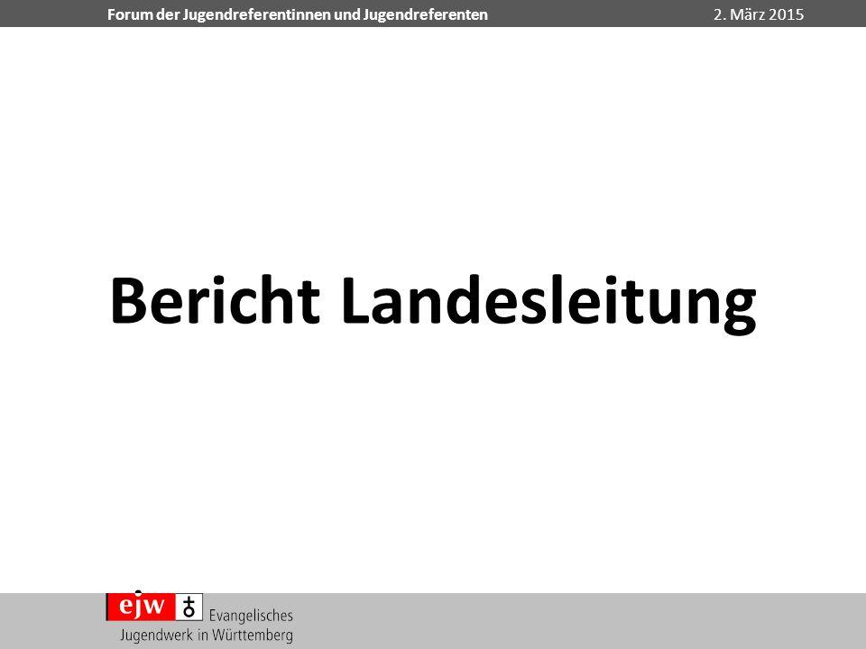 Bericht Landesleitung