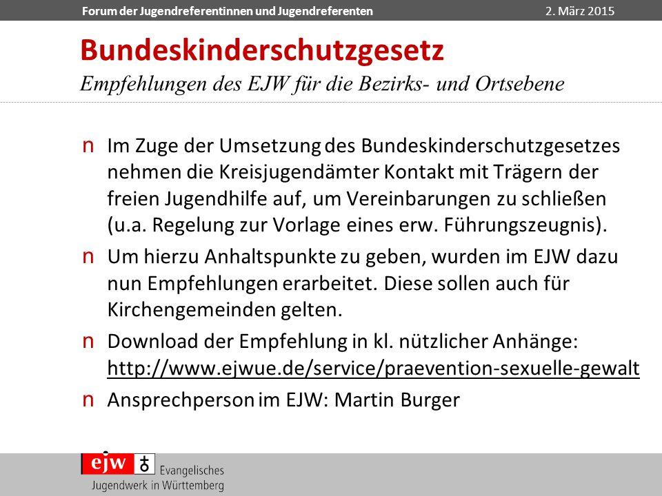 Bundeskinderschutzgesetz