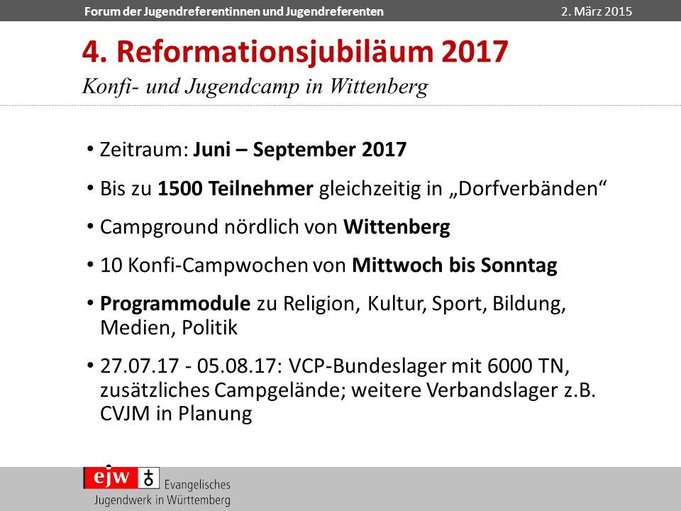 4. Reformationsjubiläum 2017