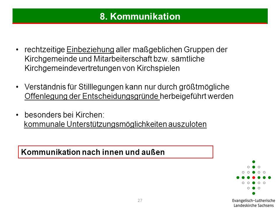 8. Kommunikation