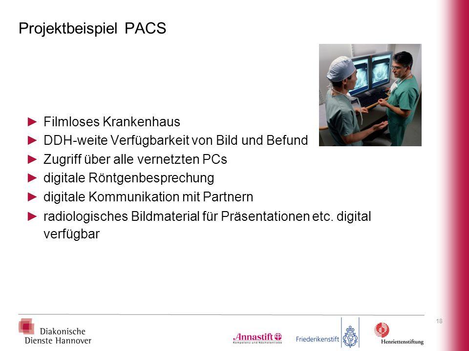 Projektbeispiel PACS Filmloses Krankenhaus