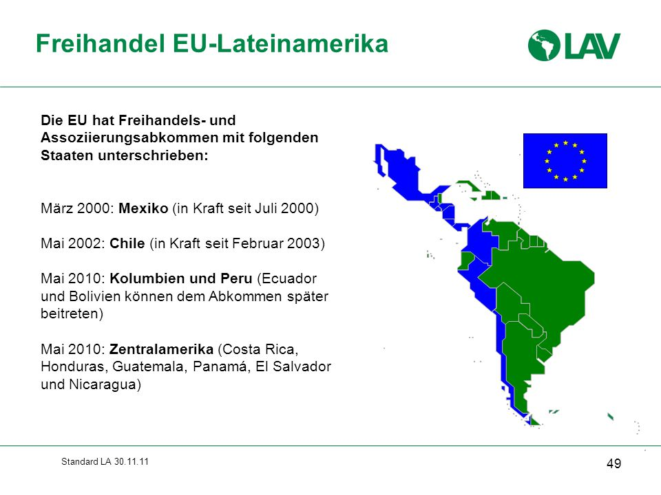 Freihandel EU-Lateinamerika