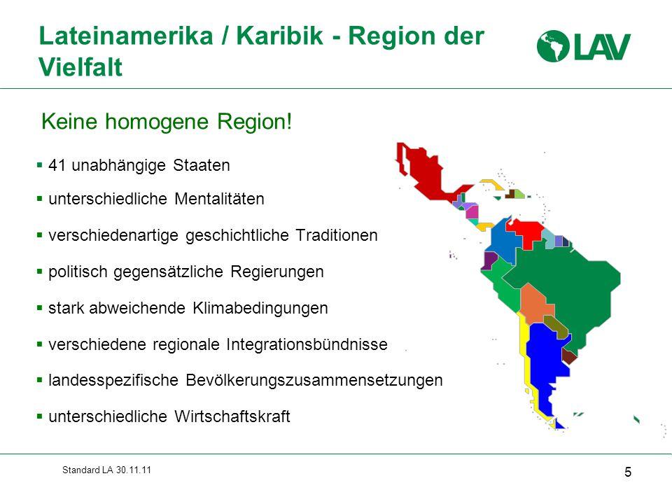 Lateinamerika / Karibik - Region der Vielfalt