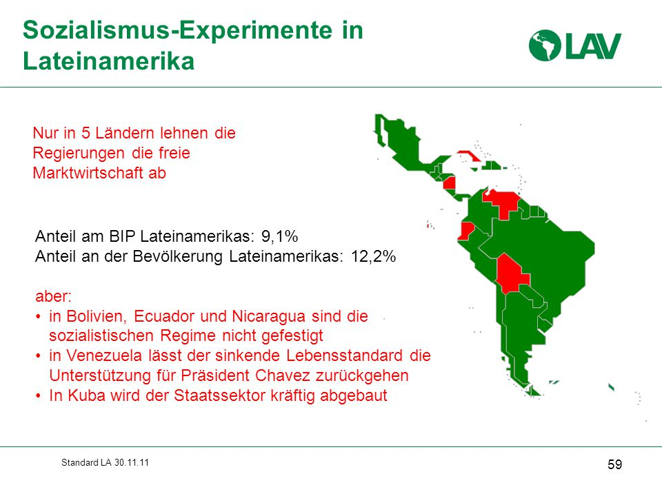 Sozialismus-Experimente in Lateinamerika