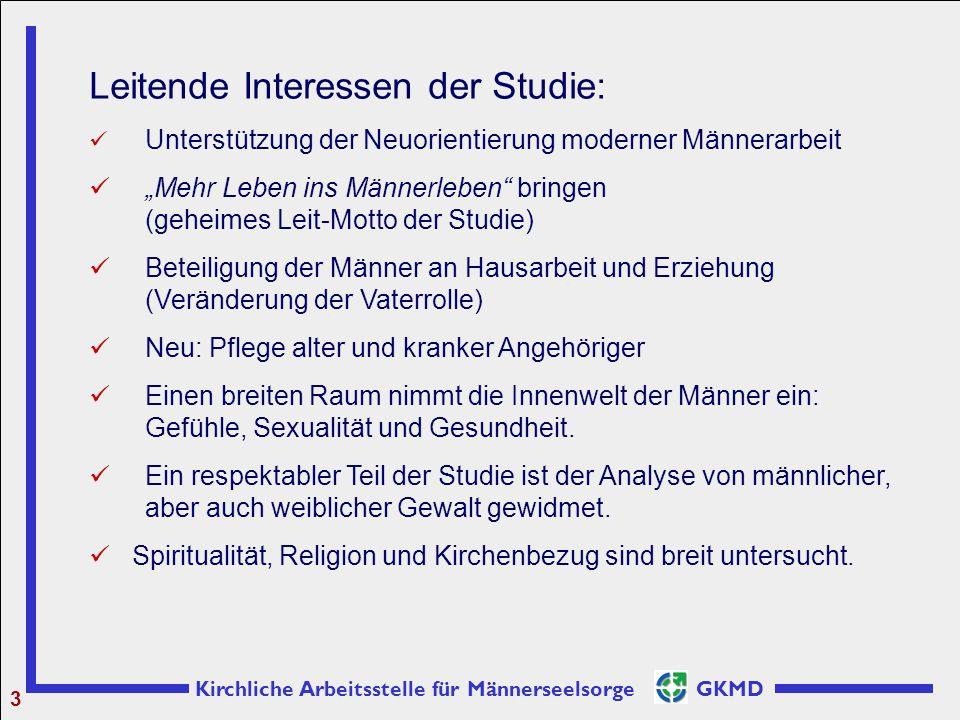 Leitende Interessen der Studie: