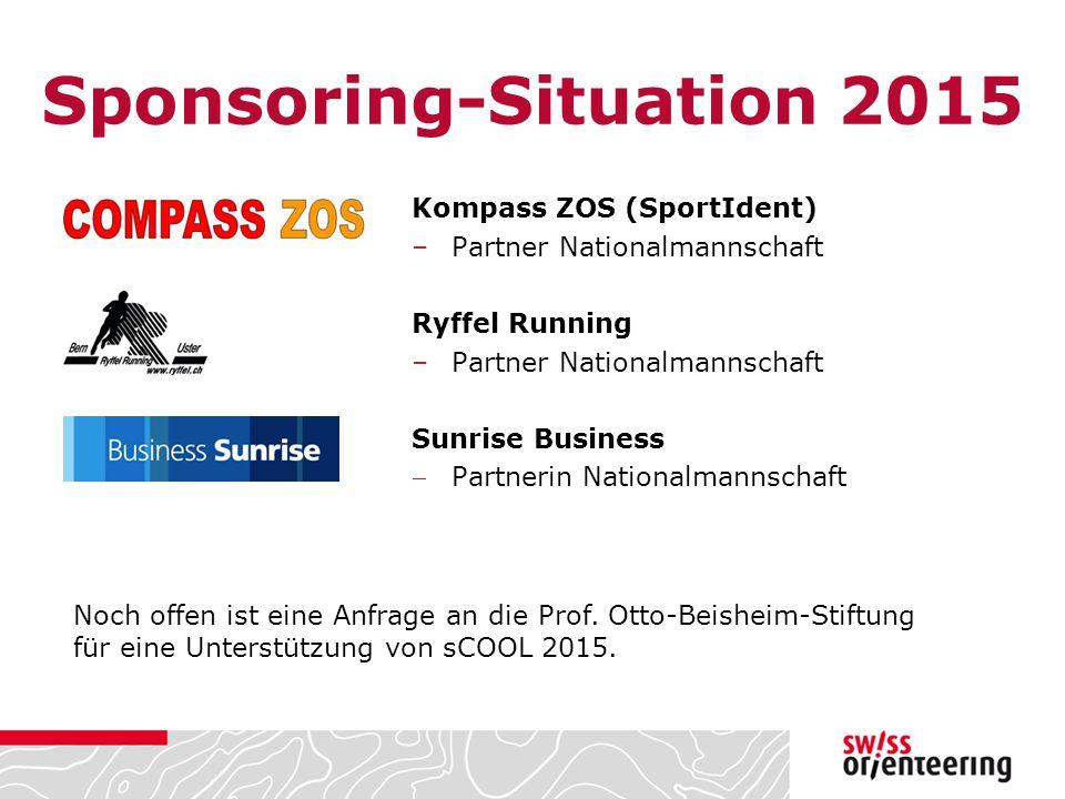 Sponsoring-Situation 2015