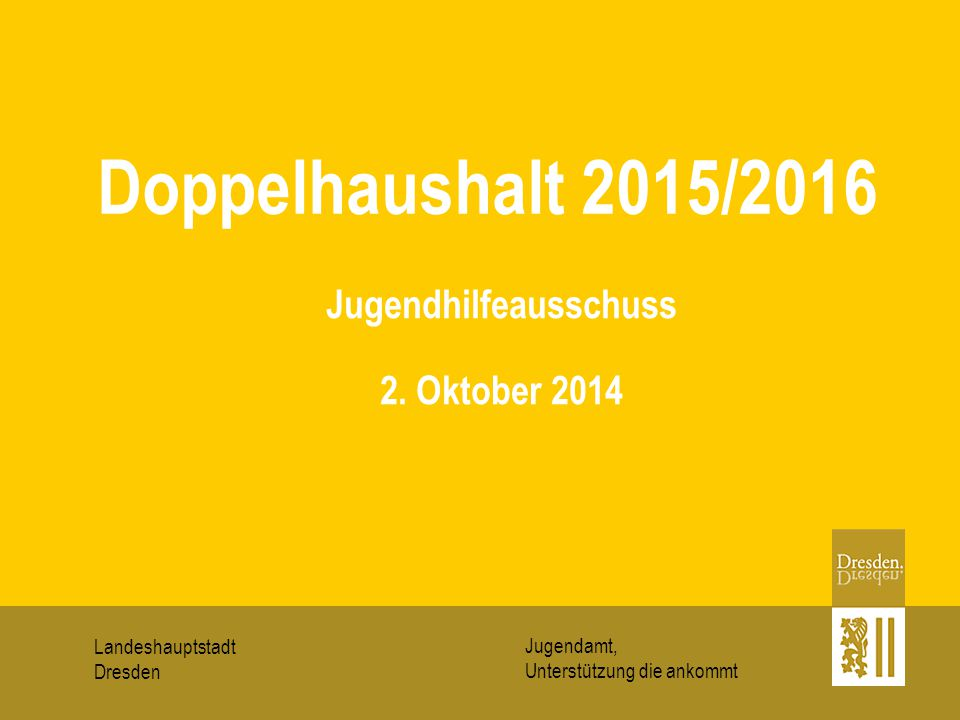 Jugendhilfeausschuss 2. Oktober 2014