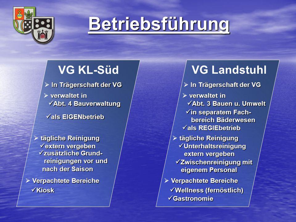 Betriebsführung VG KL-Süd VG Landstuhl In Trägerschaft der VG