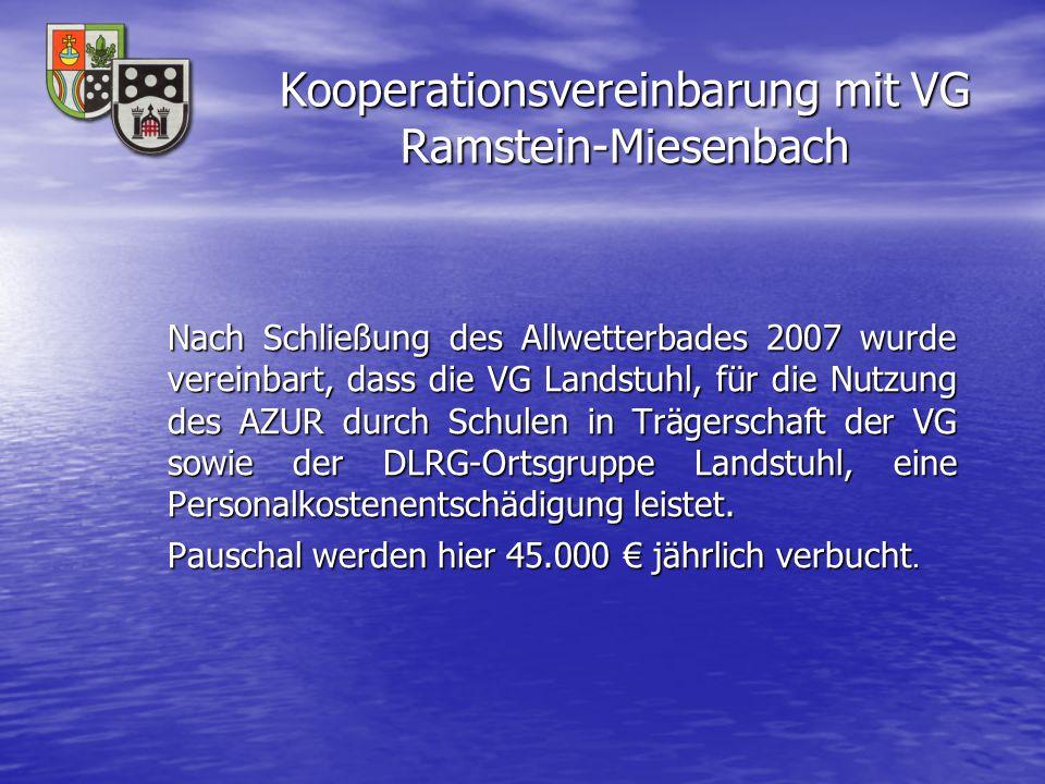 Kooperationsvereinbarung mit VG Ramstein-Miesenbach