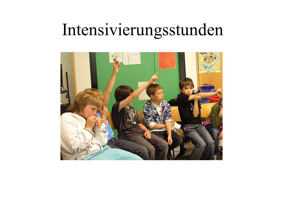 Intensivierungsstunden