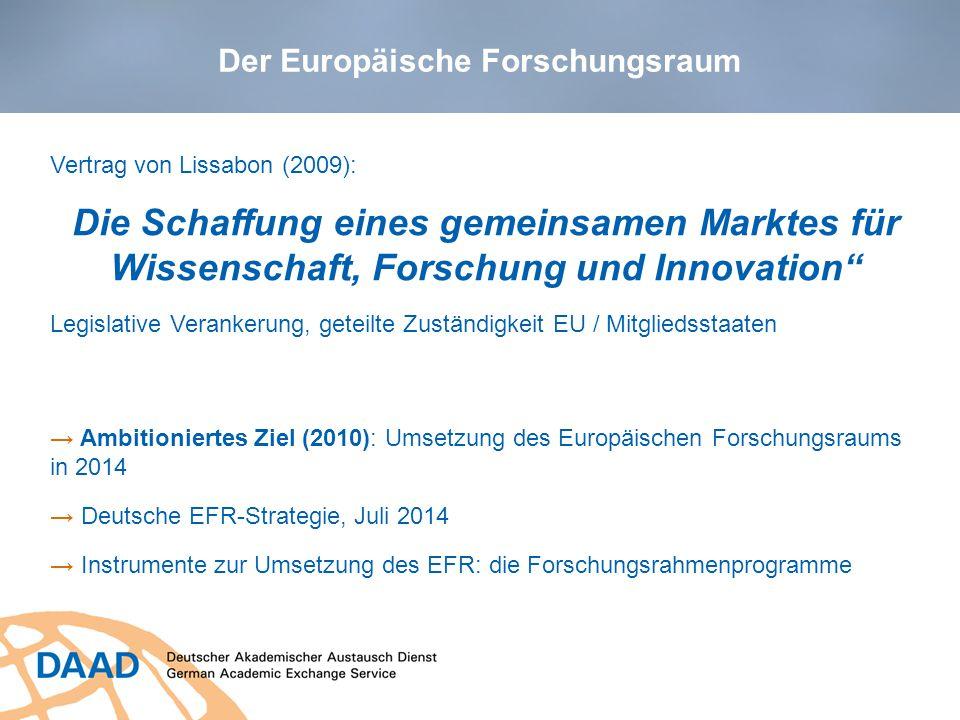 Der Europäische Forschungsraum