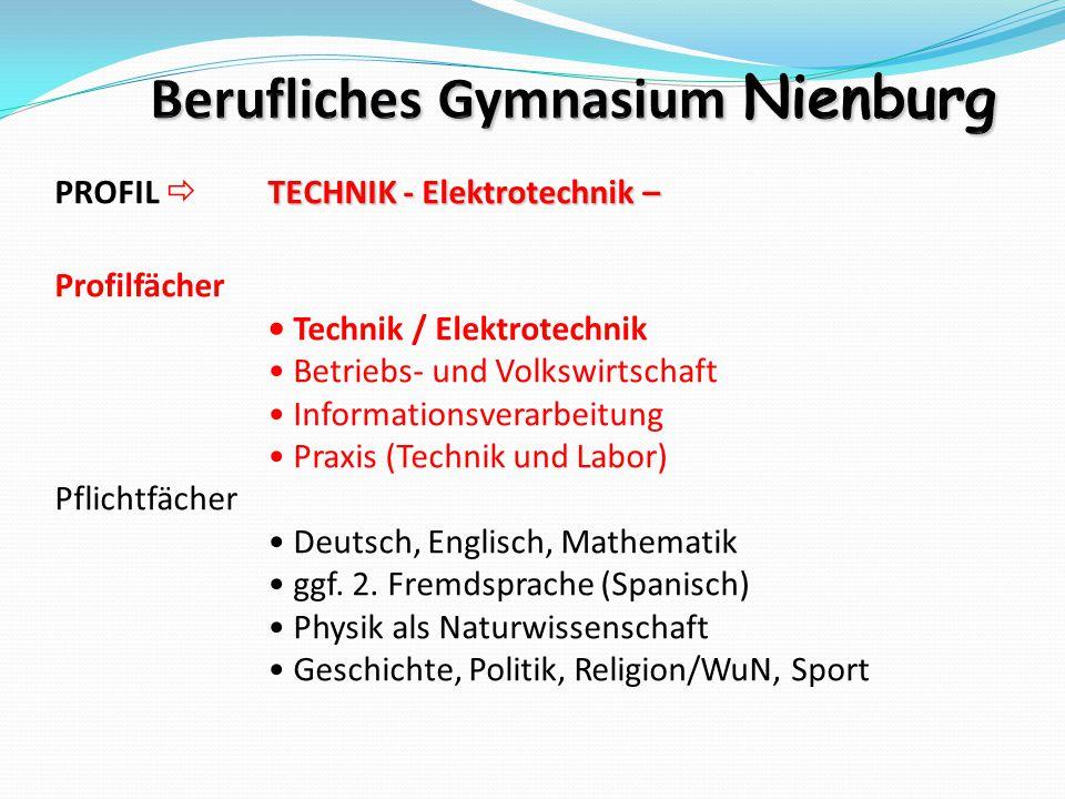 Berufliches Gymnasium Nienburg