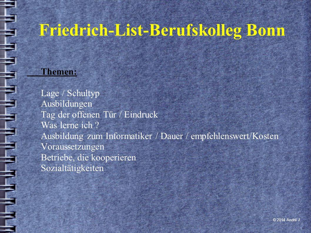 Friedrich-List-Berufskolleg Bonn